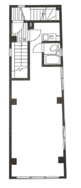 第3木屋ビル:基準階図面