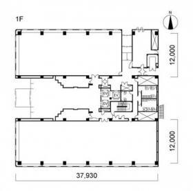 東神ビル:基準階図面