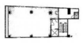 代々木防雷ビル:基準階図面