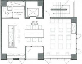 LEAGUE銀座ビル:基準階図面