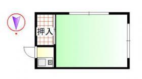 三枝荘ビル:基準階図面
