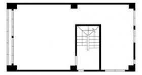 仮)銀座MCビル:基準階図面