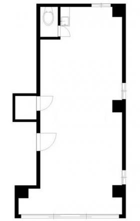 キヤビル:基準階図面