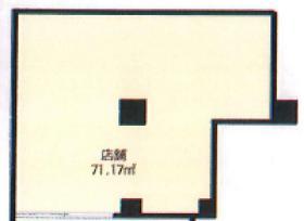 K2ビル店舗ビル:基準階図面
