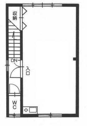 3丁目中村ビル:基準階図面