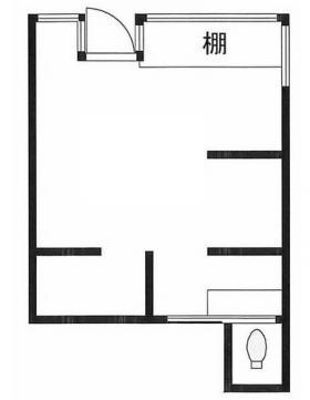 中井1丁目Ⅰ倉庫ビル:基準階図面