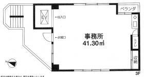 日本橋ミツヤビル:基準階図面