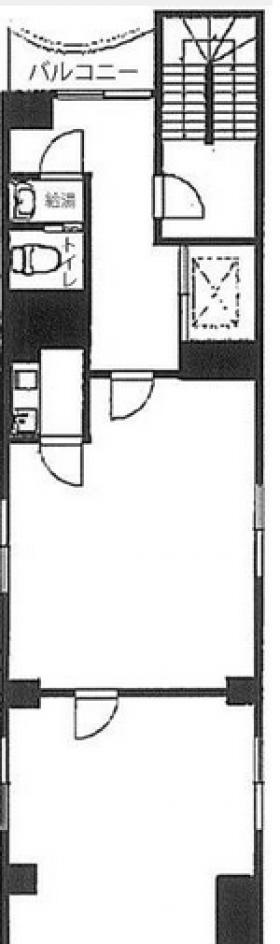望月ビル:基準階図面