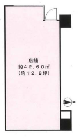 リーラ新高円寺:基準階図面