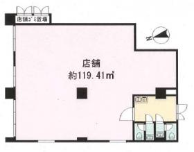 藤和シティコープ新中野ビル:基準階図面