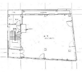 eisuビル市ヶ谷ビル:基準階図面