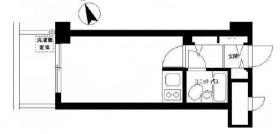 新宿御苑ダイカンプラザビル:基準階図面