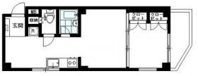 西新宿FRT-Aビル:基準階図面
