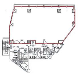 KYONI BLDG:基準階図面