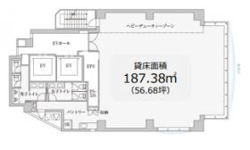 PMO浜松町ビル:基準階図面