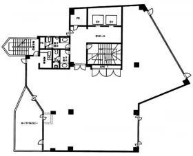エムジー市ヶ谷:基準階図面