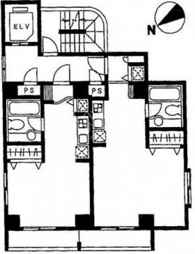 メトロフォートビル:基準階図面