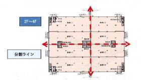 春日部物流センター:基準階図面