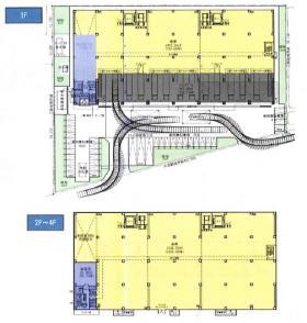 仮称)CPD松戸物流センター:基準階図面