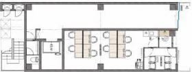 WORK BASE Nihombashi(旧STH BUILDING)ビル:基準階図面