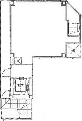 リベルタ銀座イーストビル:基準階図面