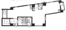 タツミビル:基準階図面