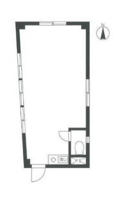 SD神泉ビル:基準階図面