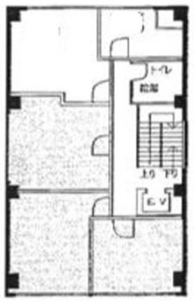 高谷銀座ビル:基準階図面