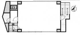 COMBOX三軒茶屋ビル:基準階図面