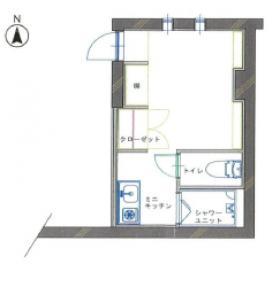 COMFOURTISビル:基準階図面