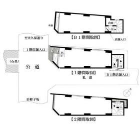 遊和神楽坂ビル:基準階図面