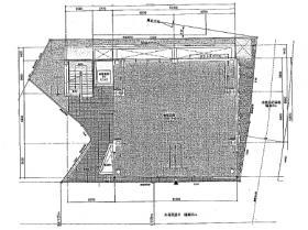 白金イガックスビル:基準階図面