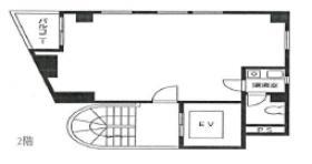 新宿大澤ビル:基準階図面