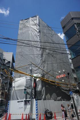 ジョワレ恵比寿ビルの外観写真