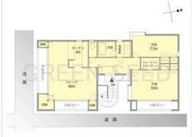 SAWAマンションビル:基準階図面