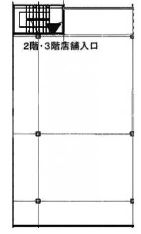 (仮称)フィル・パーク浜松町ビル:基準階図面