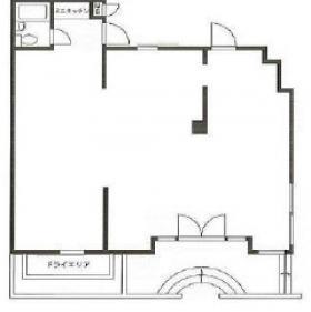VILLA CATTLEYAビル:基準階図面