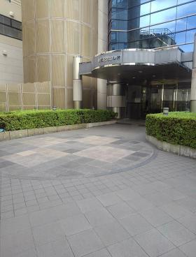 クレオ原宿本社ビルのエントランス