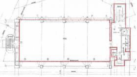 クレオ原宿本社ビル:基準階図面