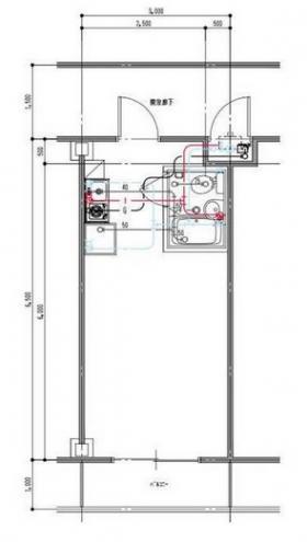 ホワイトコート新宿ビル:基準階図面