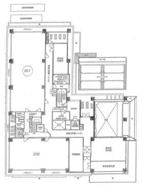 アルファグランデ千桜タワー:基準階図面