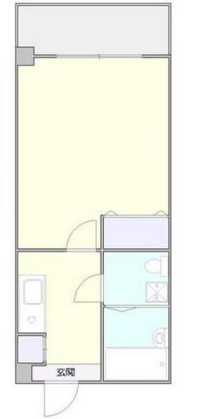 メゾン・ド・四谷ビル:基準階図面