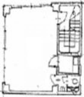 サトウビル:基準階図面