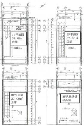 TSJ-17ビル:基準階図面