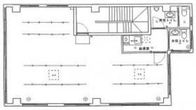 備広東日本橋ビルⅡビル:基準階図面