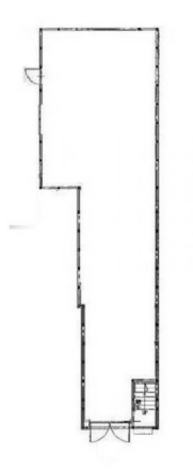 希宿社ビル:基準階図面
