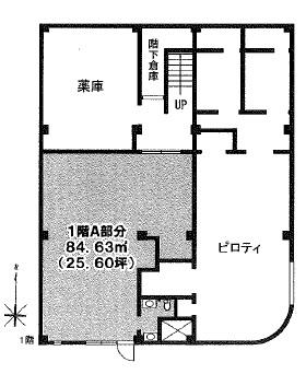 KCV(国分寺クリニックヴィレッジ)ビル:基準階図面