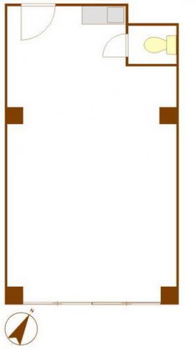 明和ビル:基準階図面