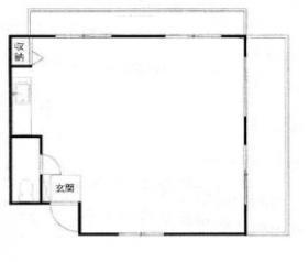 ヴィラージュ青山ビル:基準階図面