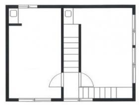 三上ビル:基準階図面
